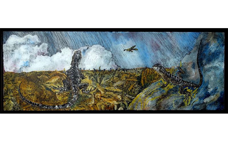 Wayne Pearson - Flight Path: Wasp & Water Dragons