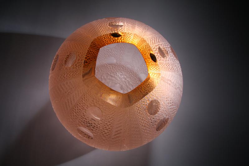 Urchin in Apricot