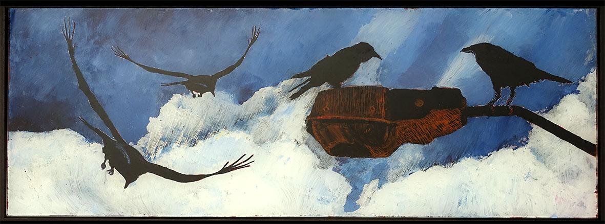 Wayne Pearson - Ravens at Dusk
