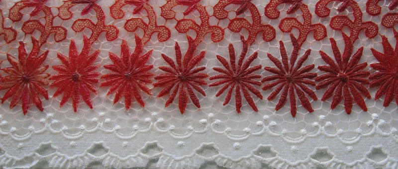 Vintage Lace Wall Panel
