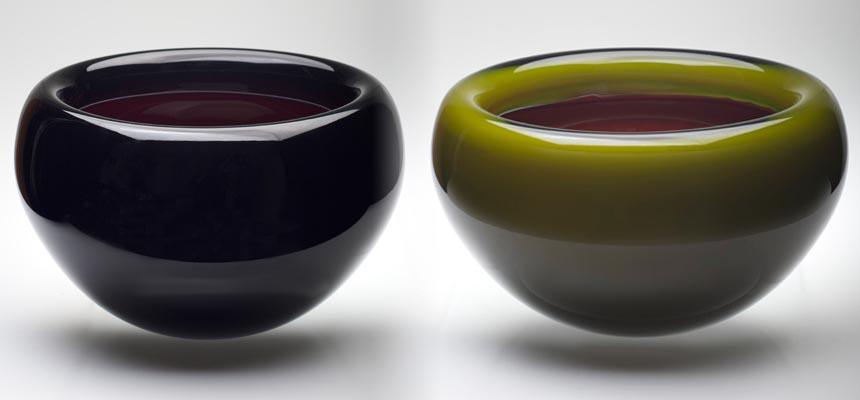 Bowls - Black & Green